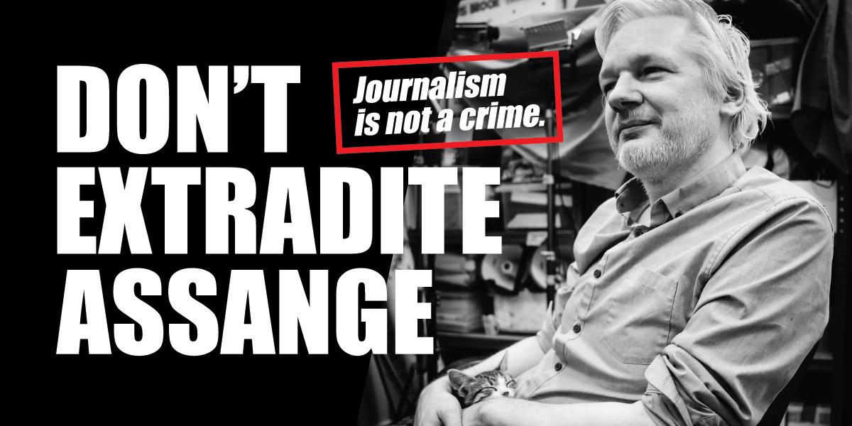 Don't Extradite Assange